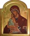 Gudsmodern och Jesusbarnet