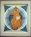 Profeterad Kristus tronande