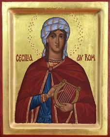 Ikon av Cecilia av Rom