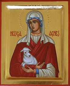 Heliga Agnes